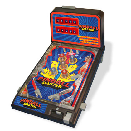Maquina de pinball for Pinball de mesa