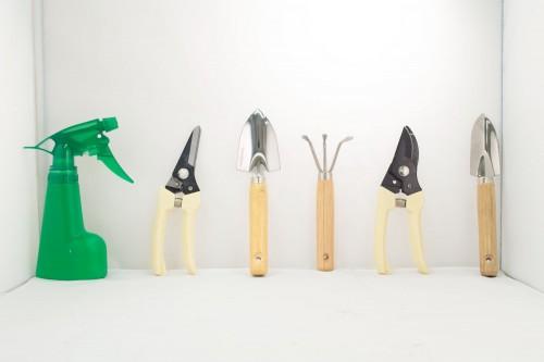 Bolsa de Lona con herramientas de jardín