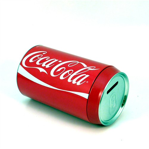 Hucha lata coca cola - Regalos coca cola ...