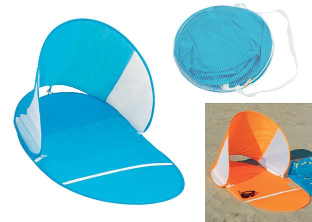 Esterilla parasol plegable