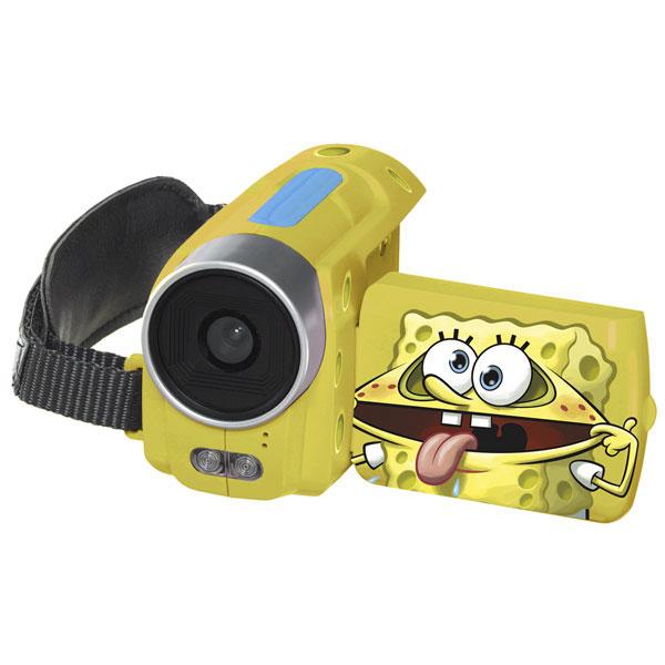Videocámara digital Bob esponja, marca Ingo