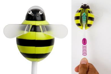 Soporte cepillo dental Bumble Bee ventosa de ABS