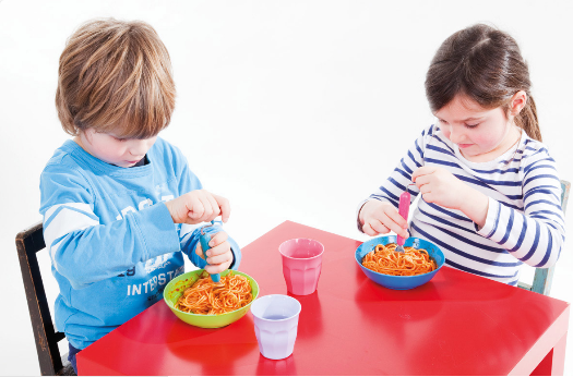 El tenedor ideal para enrollar espaguetis