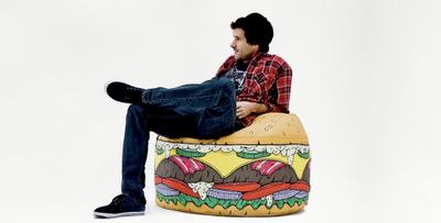 Puf hamburguesa