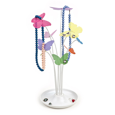 Soporte collares Colour Wings metal