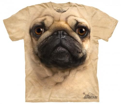 Camiseta  perro carlino