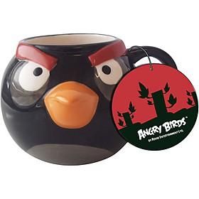 Taza `Angry Birds` Negra