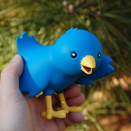 Pájaro de Twitter
