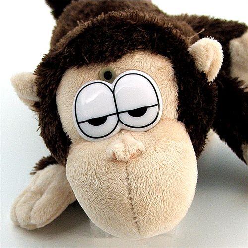 Mono de peluche carcajadas