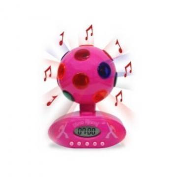 Despertador esfera de discoteca