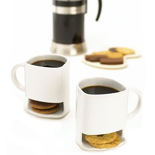 Taza de caf para llevar galletas for Tazas para cafe espresso