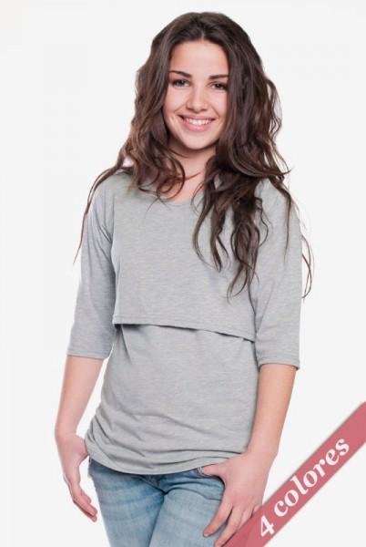 Ropa lactancia: Camiseta básica