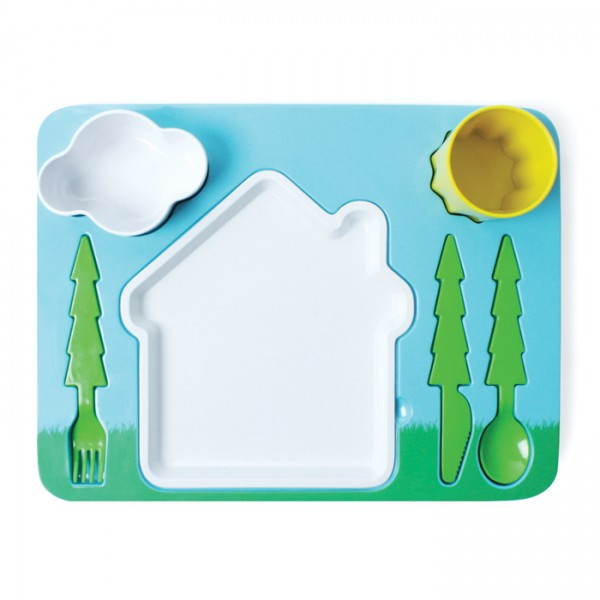 Bandeja para Comer Infantil `Paisaje`