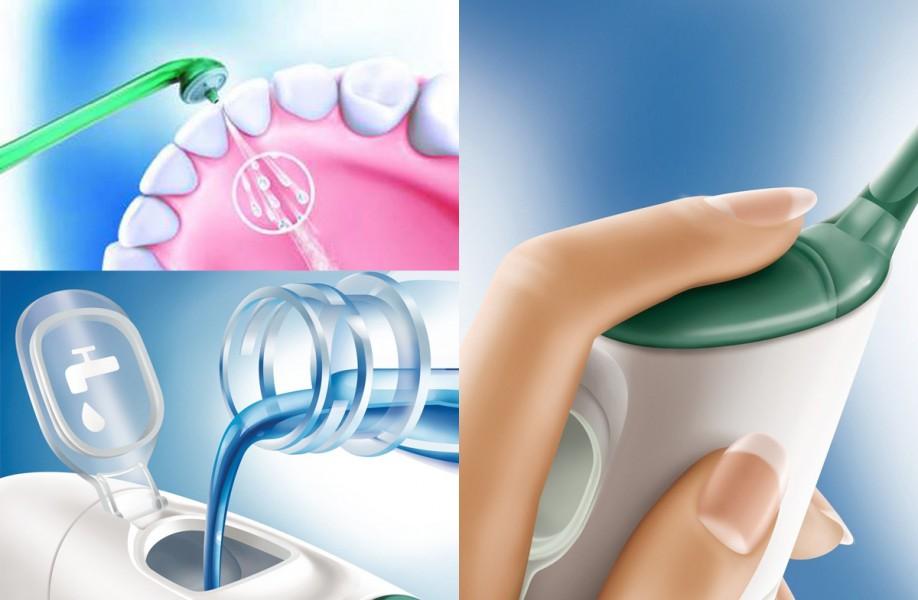Irrigador dental de Philips Sonicare