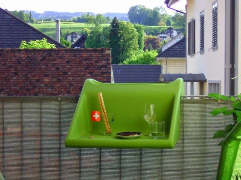 Balkonzept la mesa para balc n de quita y pon - Mesa para balcon ...