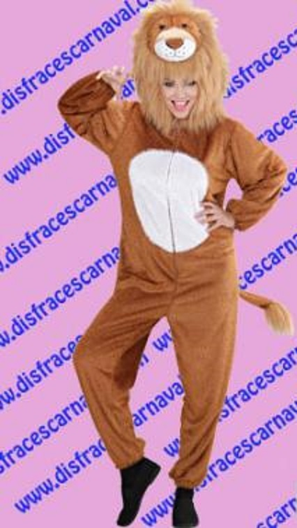 Disfraz león chica