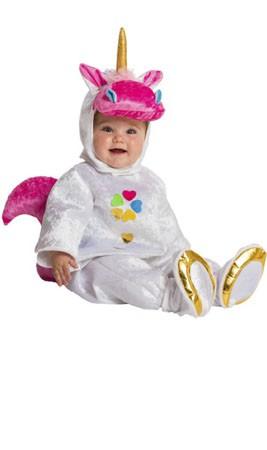 Disfraz de Unicornio Mágico Pelele bebé