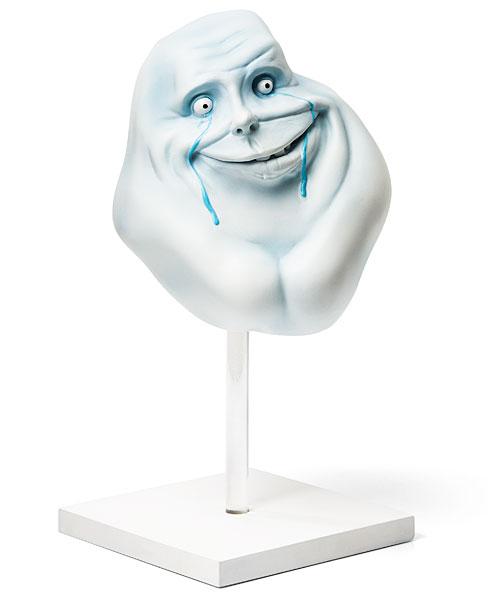 Estatua de Forever Alone