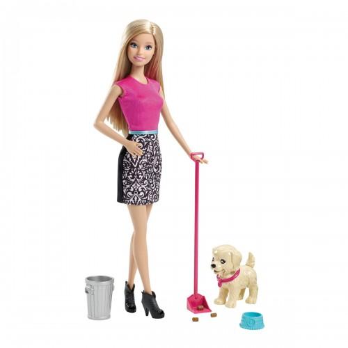 Muñeca Barbie entrenadora de perritos Mattel
