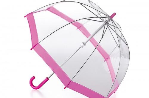 Paraguas transparente para niños