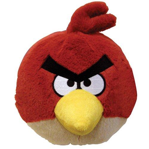 Peluche Angry Birds Rojo con Sonidos
