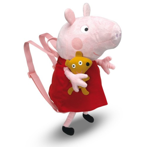 Peppa Pig  Mochila peluche