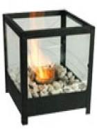 Lámpara de mesa fuego