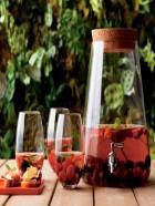 Dispensador de bebidas,recipiente de vidrio