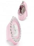 Anillo reloj Hello Kitty de color rosa