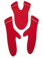 Románticos guantes para parejas