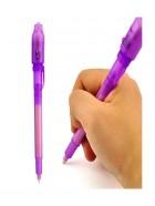 Bolígrafo de tinta invisible con luz UV