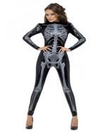 Disfraz de Esqueleto Sexy mujer