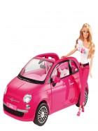 Muñeca Barbie y su fiat Mattel