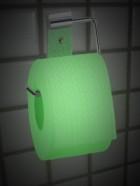 Papel de WC  Brilla en la oscuridad