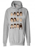 Sudadera con capucha de the walking dead